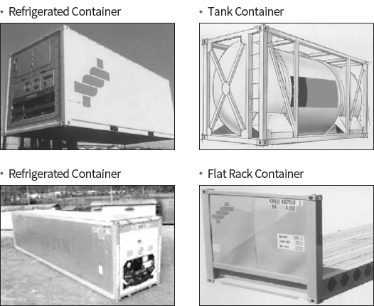 Refrigerated Container, Tank Container, Flat Rack Container